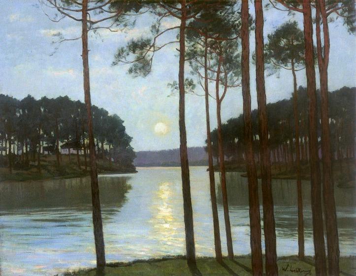 Leistikow_Walter_-_Abendstimmung_am_Schlachtensee_(1895)